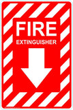 This Fire Extinguisher - Fire Extinguisher Safety Signs and Stickers