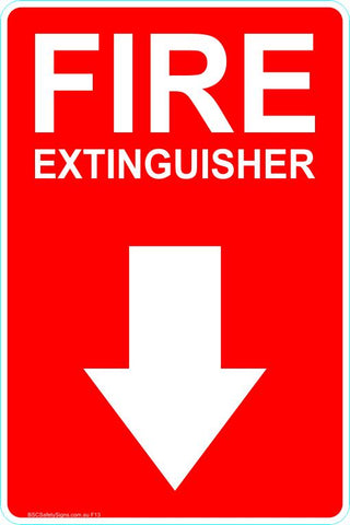 This Fire Extinguisher - Fire Extinguisher 2 Safety Signs and Stickers