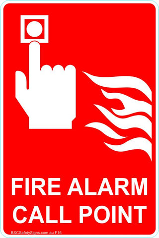 This Fire Extinguisher - Fire Alarm Call Point Safety Signs and Stickers