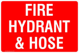 This Fire Extinguisher - Fire Hydrant & Hose Safety Signs and Stickers