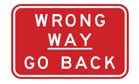 wrong way go back r2 12a g9 69 bsc safety signs australia