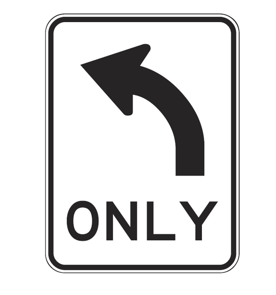 ALL TRAFFIC (Left/Right - symbolic) ONLY R2-14