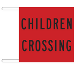 CHILDREN CROSSING (flag) R3-3