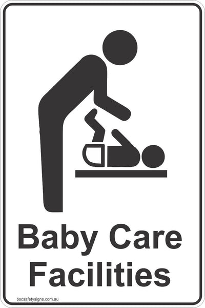 Baby Care Facilities Toilet Signs & Stickers