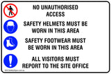 Work Site Safety Mandatory Safety Signs and Stickers