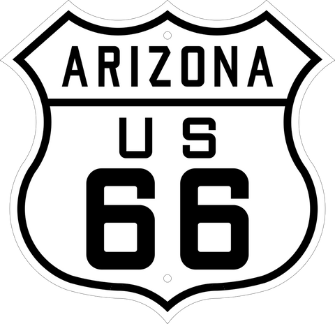 Route 66 Novelty Sign
