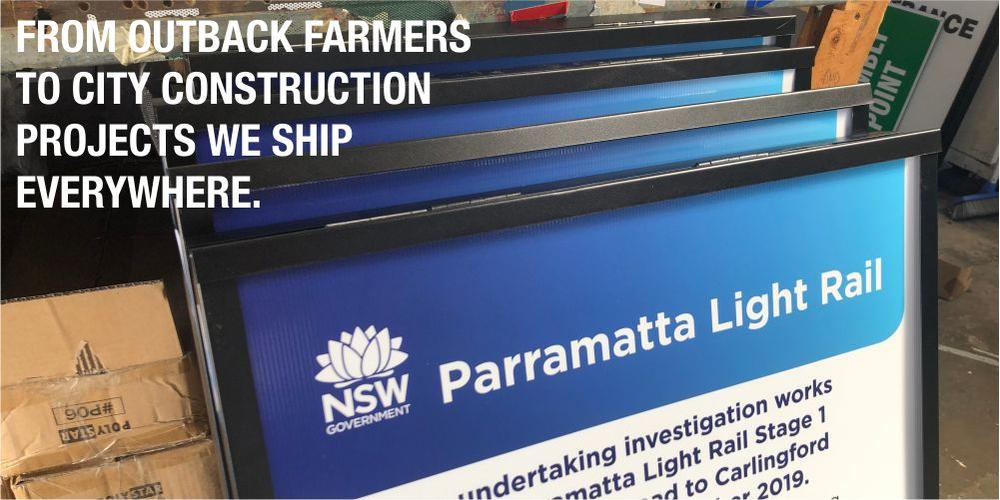 FROM OUTBACK FARMERS TO CITY CONSTRUCTIONS PROJECTS WE SHIP EVERYWHERE
