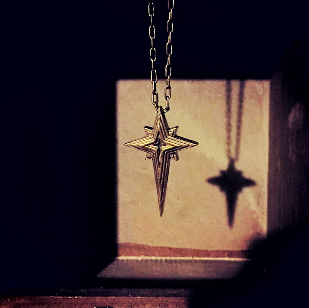 HOPE Guiding Star Necklace - Bronze