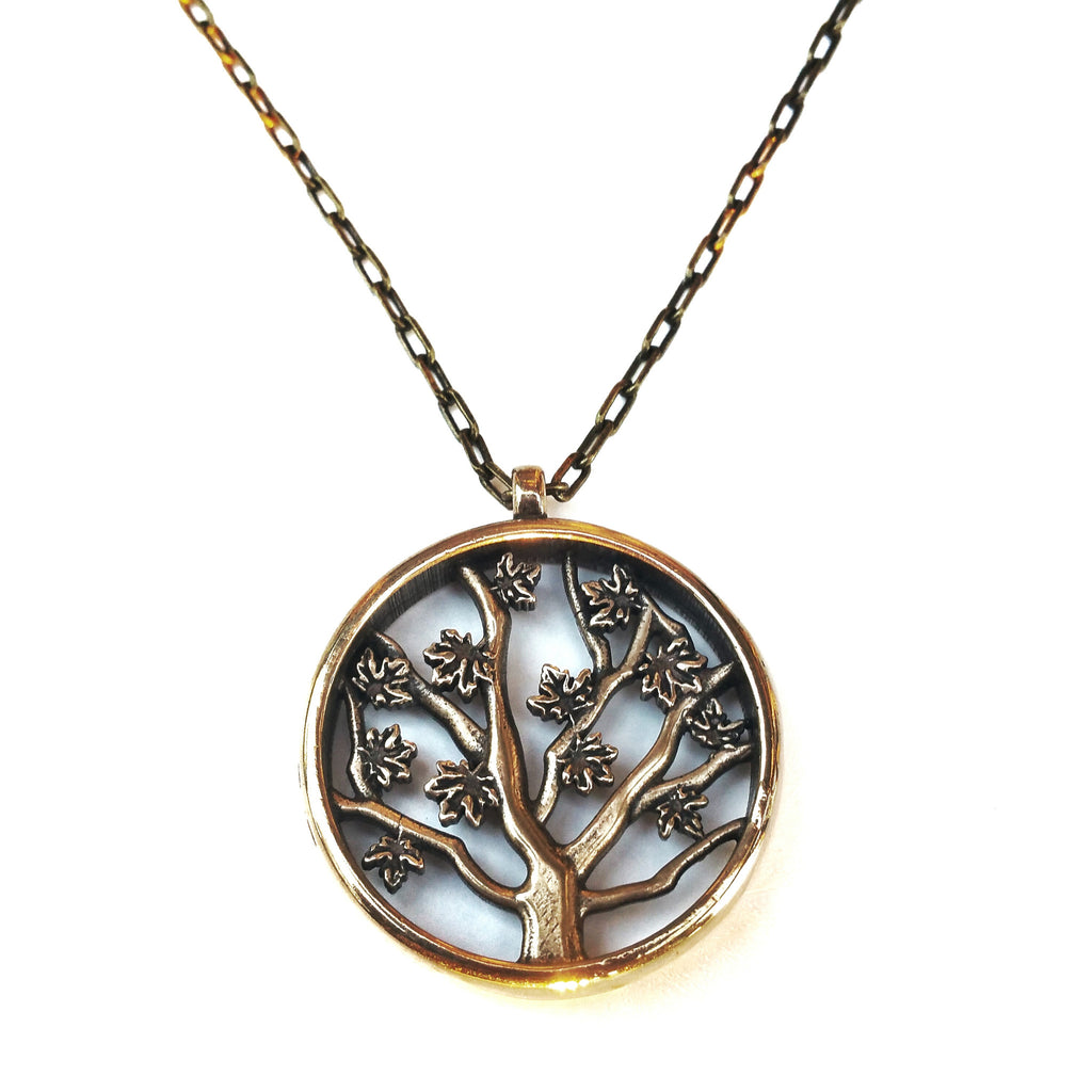 Tree of LIFE Necklace - Red Bronze HONOR EMBLEM