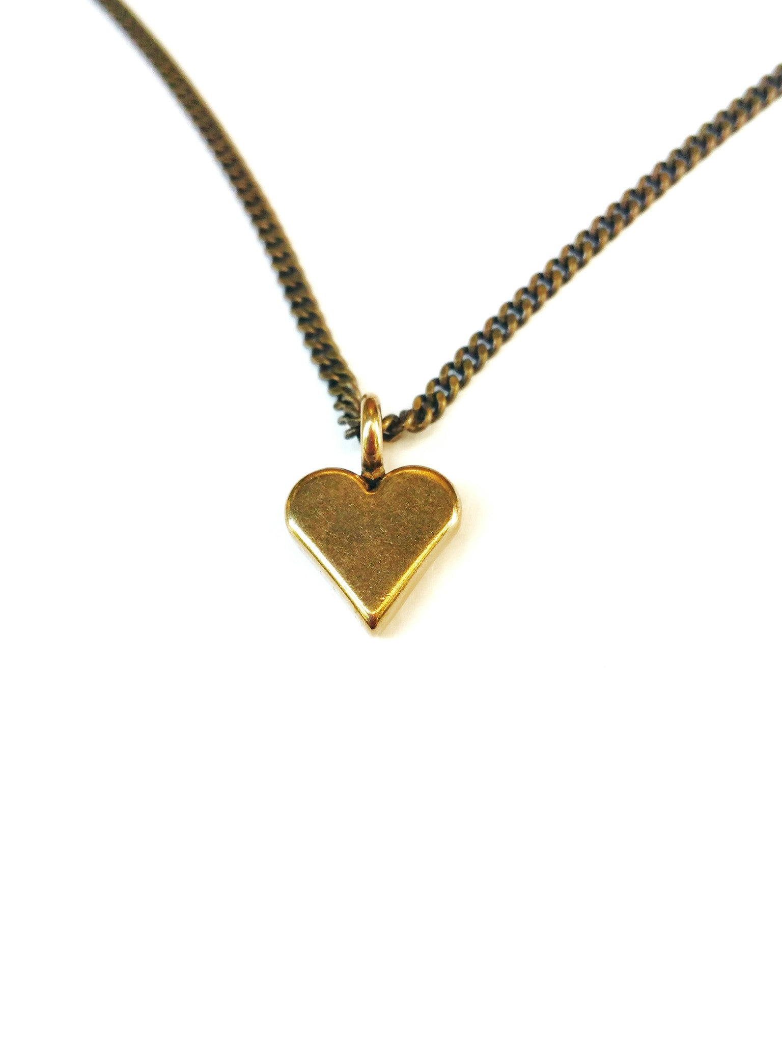 mamaloves heartmininecklacehover mini necklace heart charm