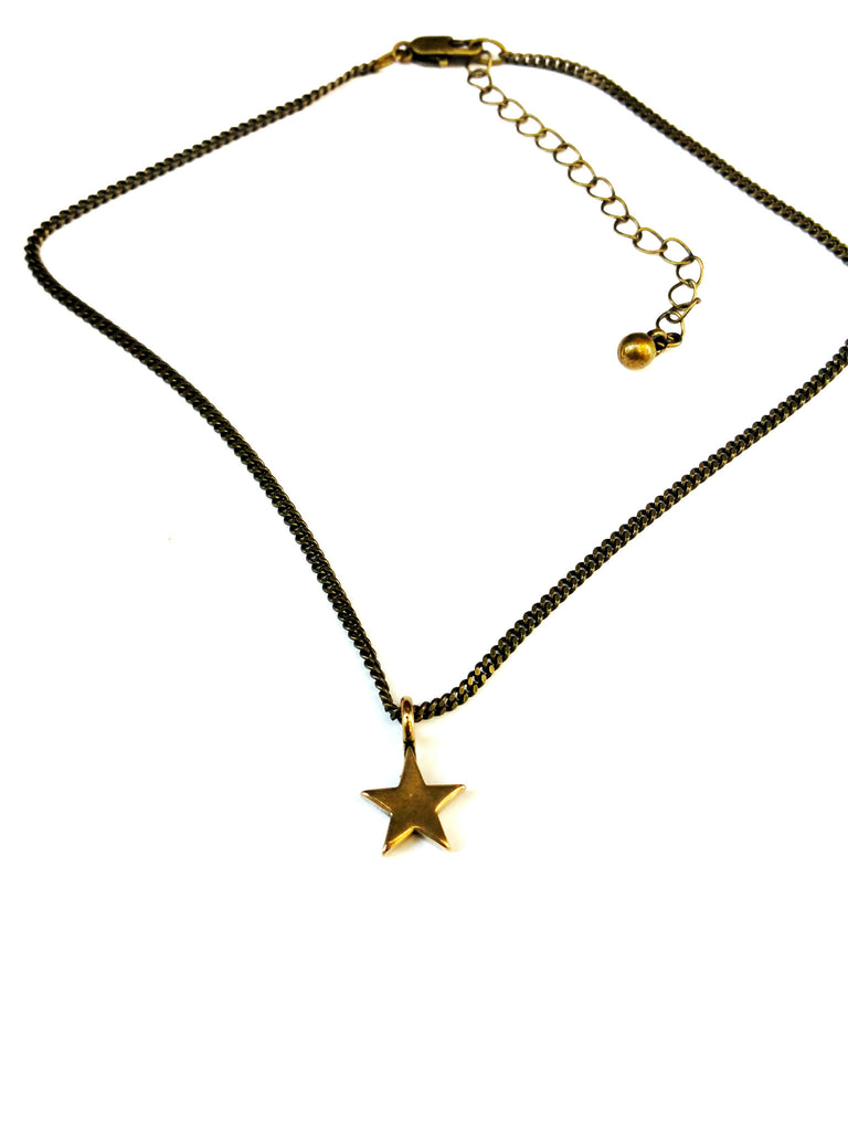 Star of Honor Necklace - Red Bronze HONOR EMBLEM Choker