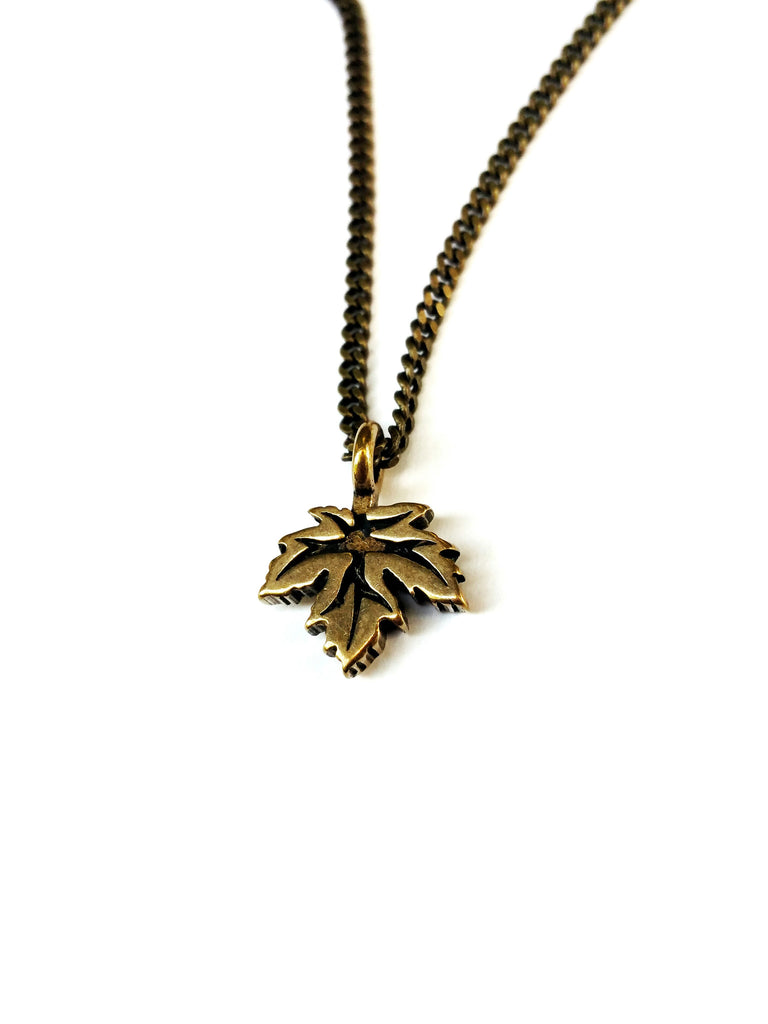 Leaf of Life Necklace - Red Bronze HONOR EMBLEM Jewelry Choker
