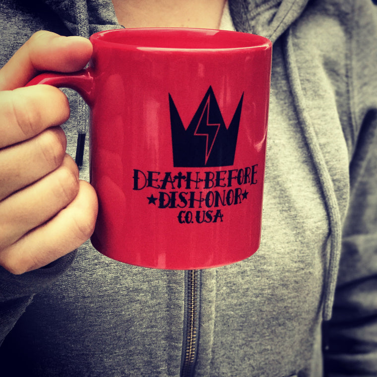 DEATH BEFORE DISHONOR Coffee Mug