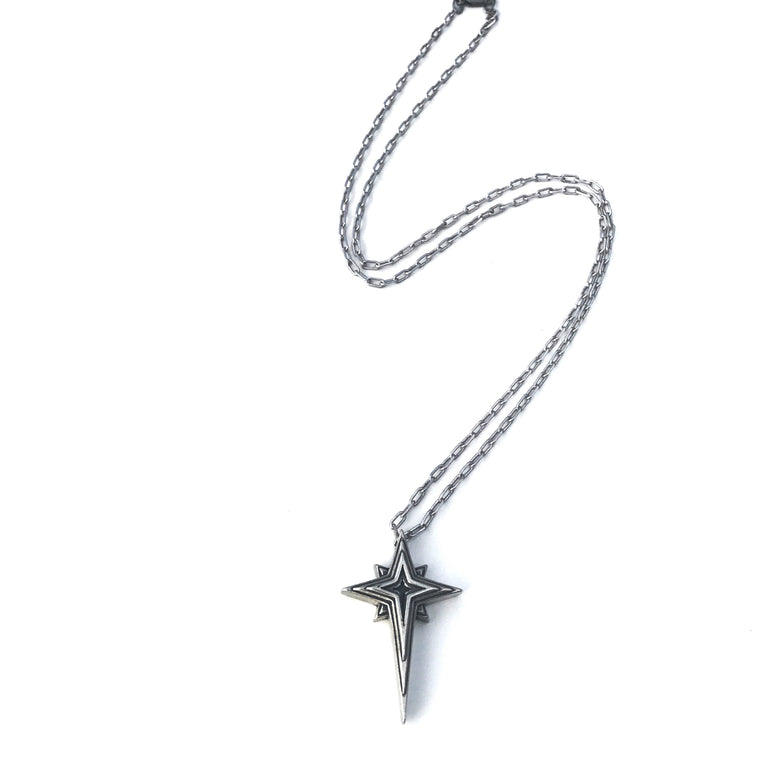 HOPE Guiding Star Necklace - Sterling Silver