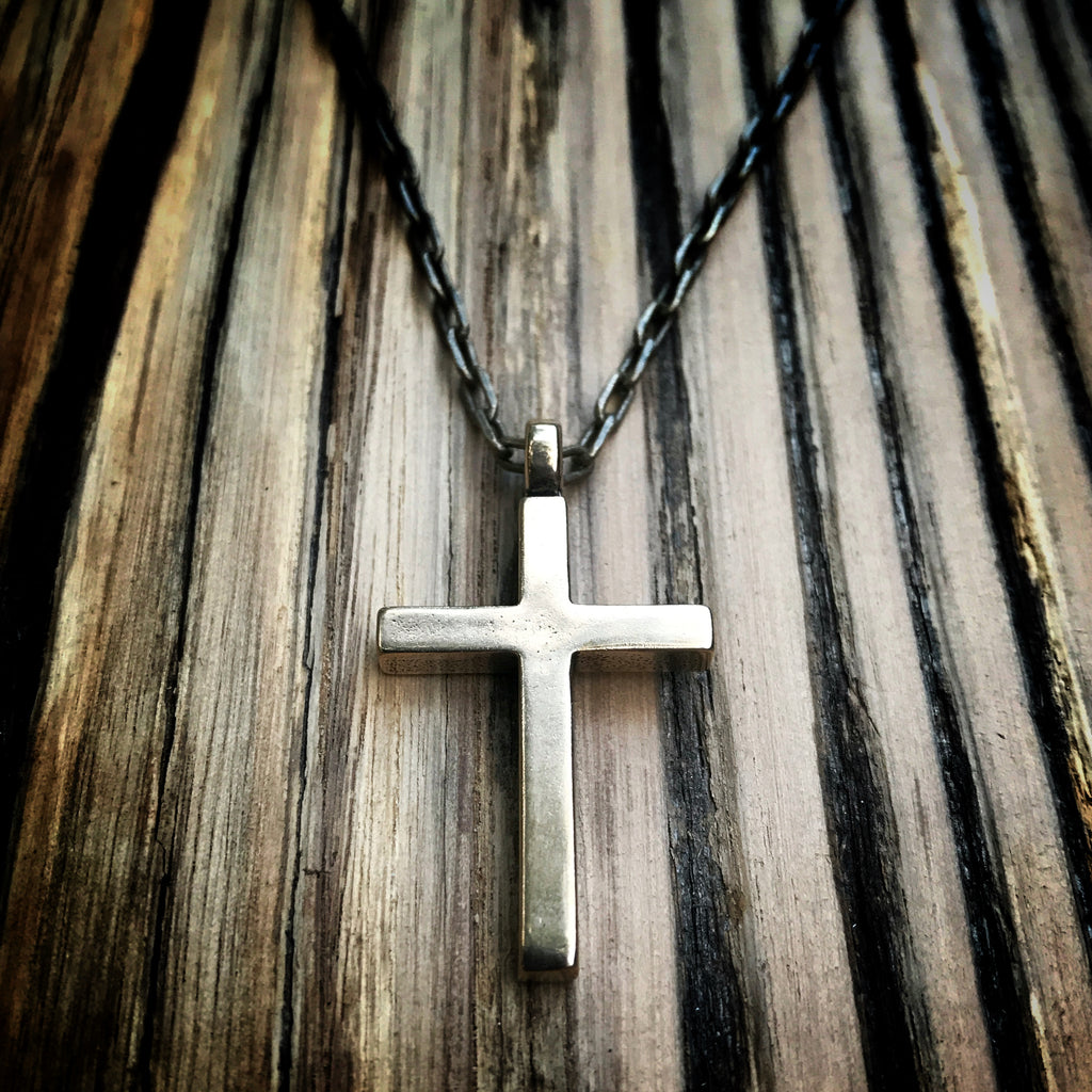 FAITH Classic Cross Necklace - Bronze