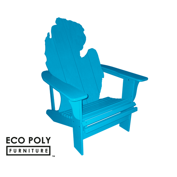 Eco Poly Furniture Michigan Adirondack Chair Recycled