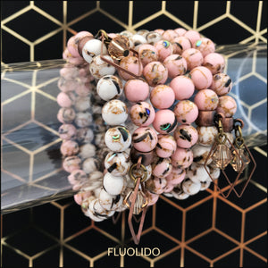 Bracelet Rose Gold Shell (seul ou en trio)