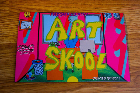 SHOOT DOPE SPOT // ART SKOOL ZINE