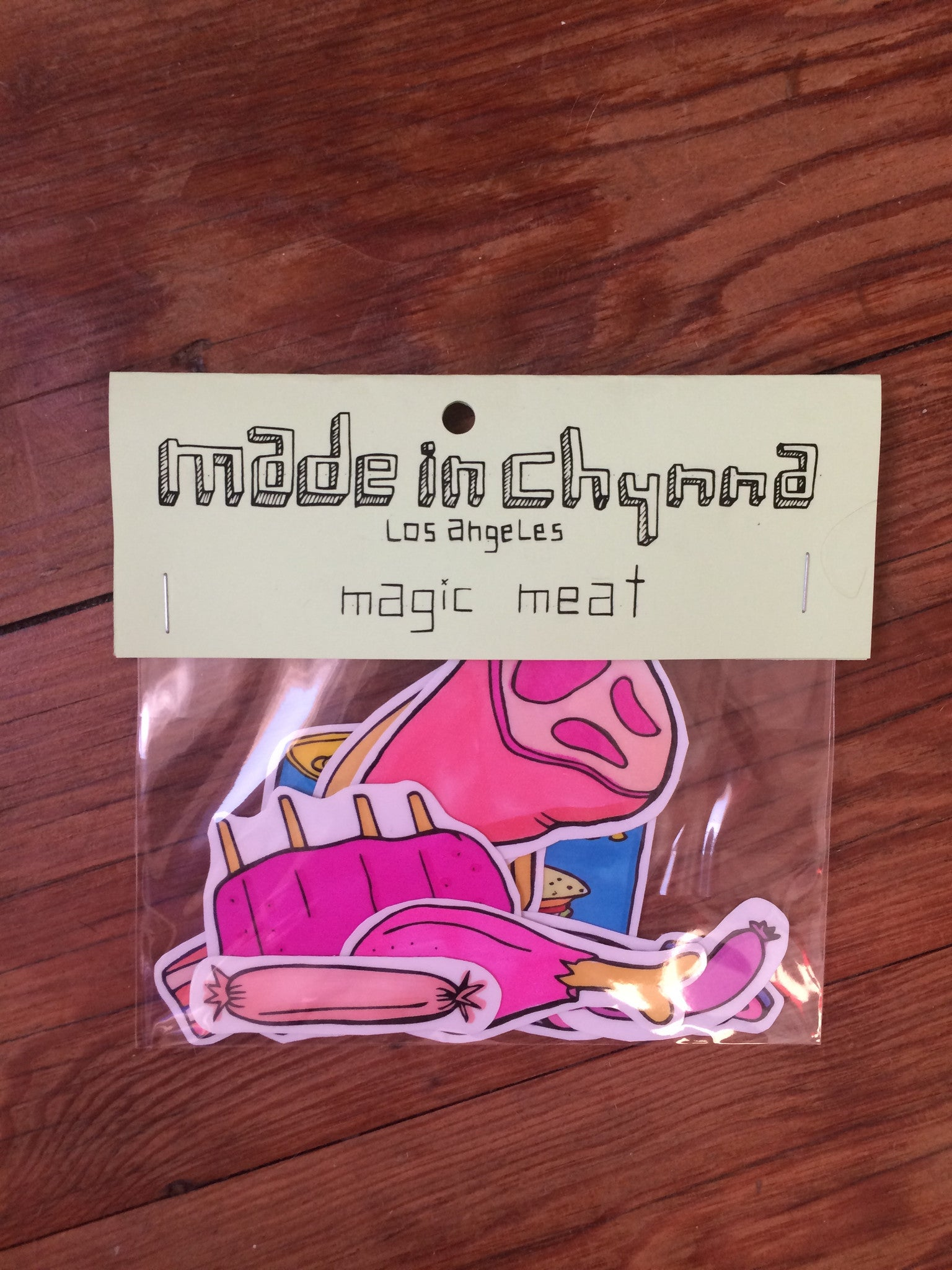 Magic meat stickers