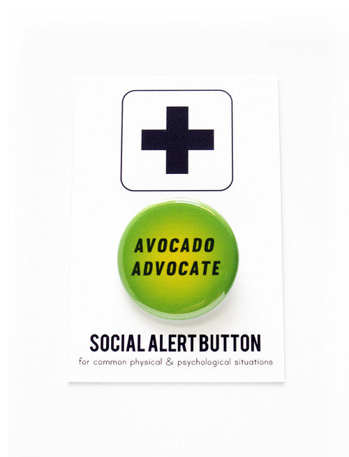 WORD FOR WORD  // AVOCADO ADVOCATE PIN