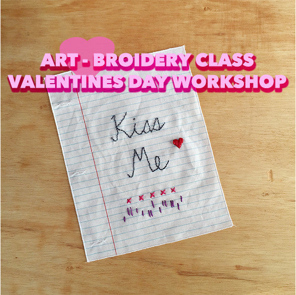 Art-Broidery Workshop