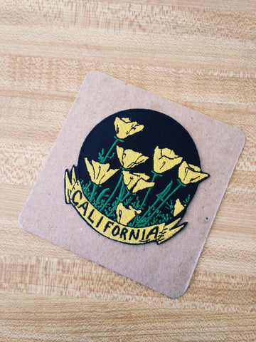 CHRISTOPHER PAYNE // CALIFORNIA POPPIES PATCH