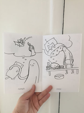 CINDY LIU // HABIBI THOUGHTS ZINE