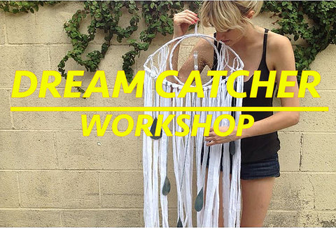 Dream Catcher Workshop with Patricia Bardales!