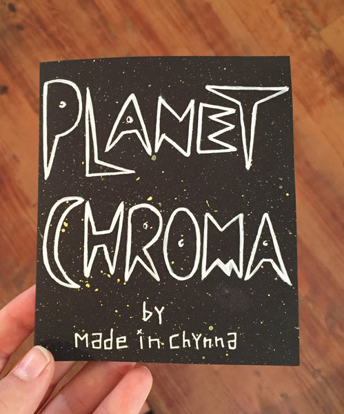 Chynna // Planet Chroma Zine