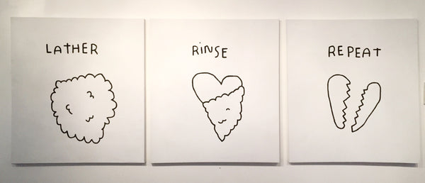 KALEN DAWSON // LATHER, RINSE, REPEAT ( TRIPTYCH)