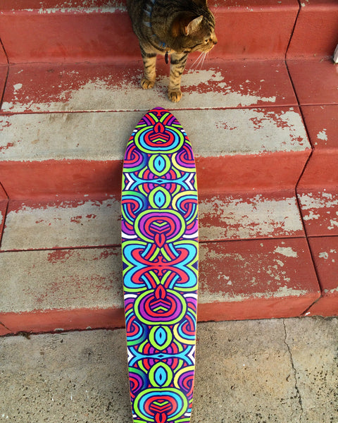 KATY LYNN BRANNIGAN// LOOPS SKATEBOARD