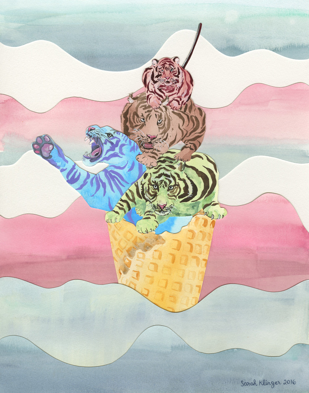 SARAH KLINGER // ICE CREAM KITTY