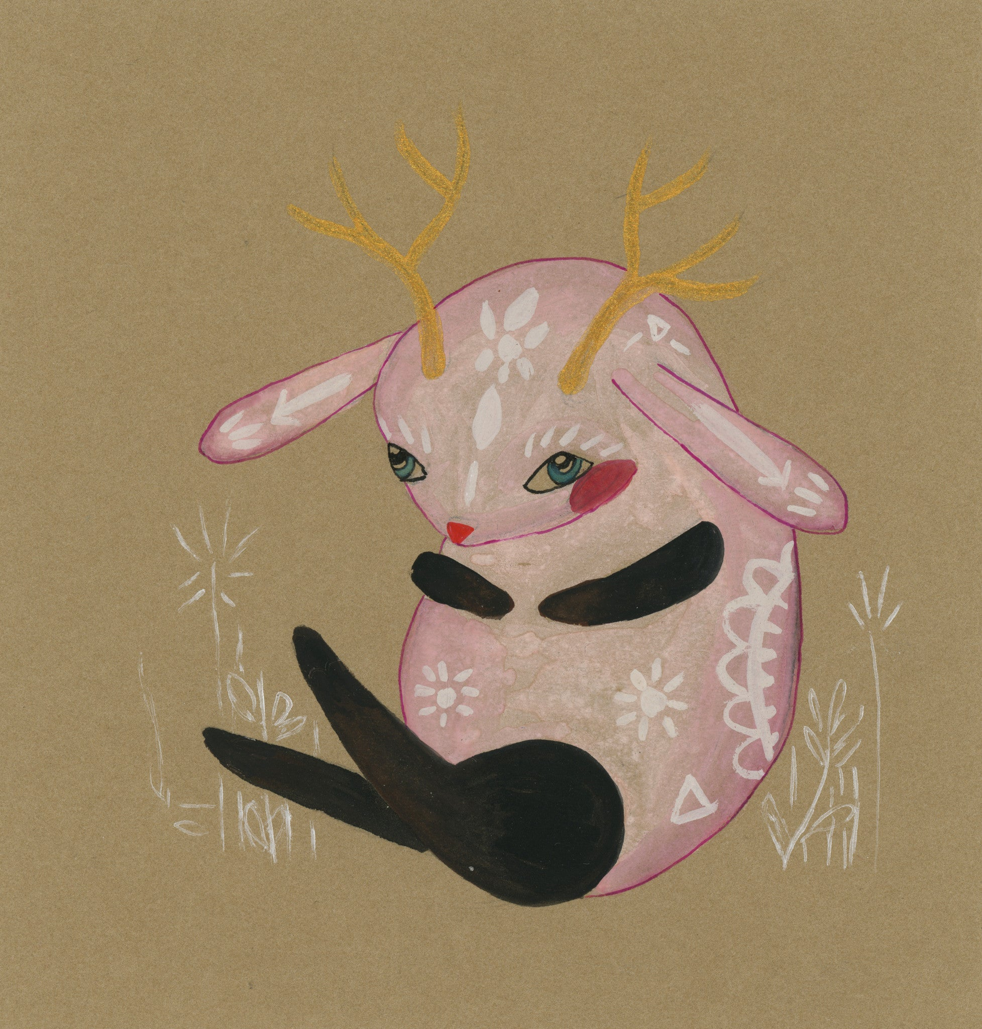 MOLLY PURCELL // PINK JACKALOPE