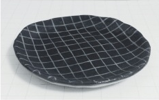 LITEN KANIN  // GRID DECOR PLATE