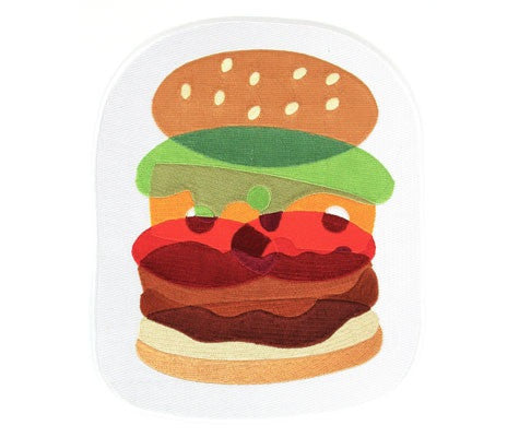 Mokuyobi Threads // Burger Back Patch