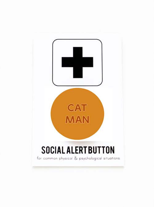 WORD FOR WORD // CAT MAN PIN