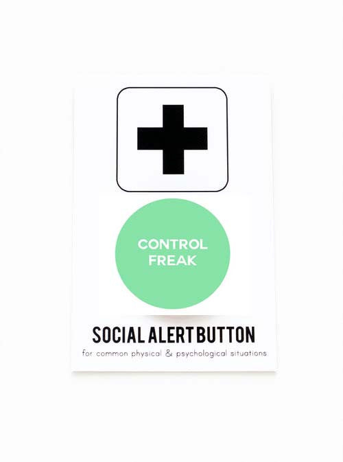 WORD FOR WORD  // CONTROL FREAK PIN