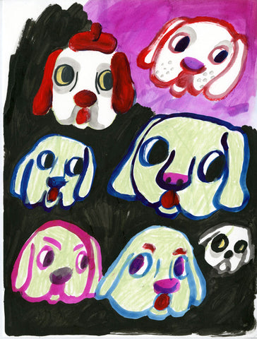 ISA BENISTON // DOG FAMILY