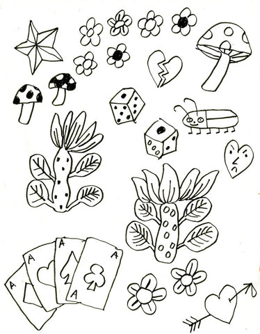 ISA BENISTON // FLASH SHEET 2