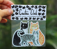 MELINDA BOYCE //  CAT STICKER PACK