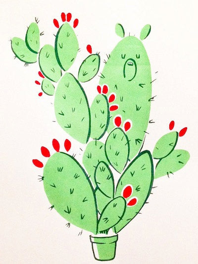 MICHELLE LEE // PRICKLY PEAR BEAR
