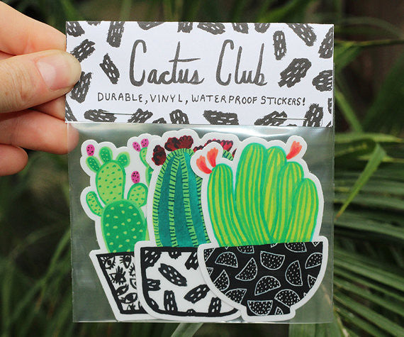 MELINDA BOYCE // CACTUS STICKER PACK