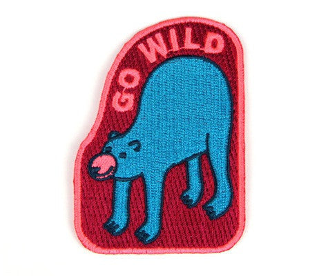 MOKUYOBI THREADS // GO WILD PATCH