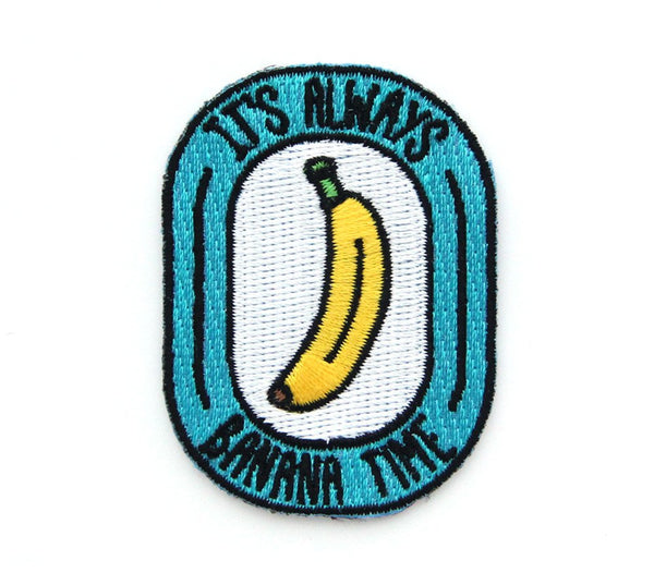 MOKUYOBI THREADS // BANANA TIME PATCH