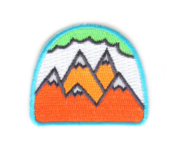 MOKUYOBI THREADS // NEON MOUNTAINS PATCH