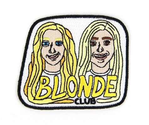 MOKUYOBI THREADS // BLONDE CLUB PATCH
