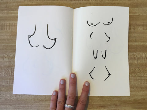 BRIANNA SPENCER // BOOBS/TITS/KNOBS/FUN BAGS ZINE