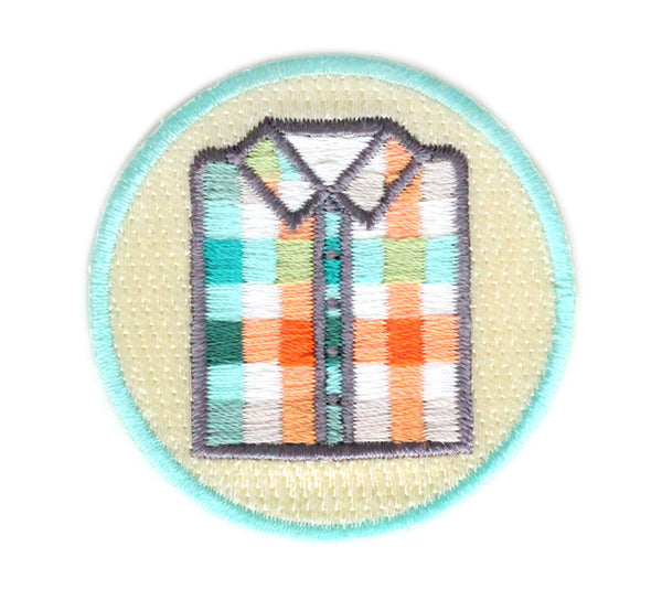 MOKUYOBI THREADS // PLAID SHIRT PATCH