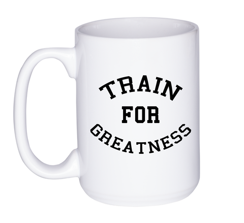 Mug 11oz. Train for Greatness Spartan