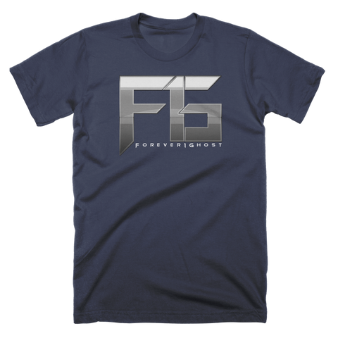 Forever1Ghost Logo Navy T-Shirt